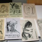 Lot of 7 Quarterstaff Robin Hood Publications Fanzines  1980's