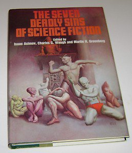 Seven Deadly Sins of Science Fiction HC book club ed 1980 Asimov