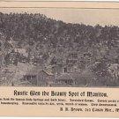 Rustic Glen Manitou Colorado VIntage Postcard