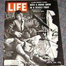 1965 Life Mag Don Scholander Olympic Gold Medalist Vietnam Copter Warfare