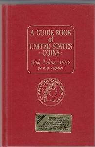 Guide Book of United States Coins 45th edition 1992 RS Yeoman HC