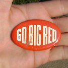 GO Big Red Guys Potato Chips Vintage Button Pin