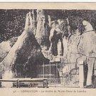 """Vintage Postcard Grotto of Our Lady of Lourdes """"Notre Dame de Lourdes"""""""