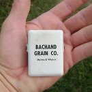Bachand Grain CO Malmo & Weston Nebraska metal clip