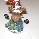 Home Interiors Christmas Moose Ornament