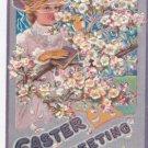 """Vintage Postcard 1909 """" Easter Greetings """""""