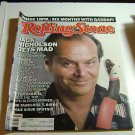 Rolling Stone Magazine Issue # 480 1986 Jack Nicholson cover