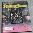 Rolling Stone Magazine Nov 19 1987 Pink Floyd Feature/Cover