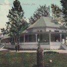 Vintage Postcard Lake Maniwa Pavillion Omaha Nebraska 1909