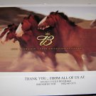 2004 Budweiser True Collection Calendar