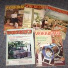 Lot of 5 Workbench woodworking Magazines 1983