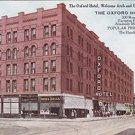 Vintage Postcard Oxford Hotel & Union Depot Denver Colorado