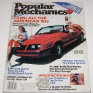 "Popular Mechanics October 1982 Cars all the America ""83's"" in color"