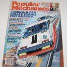 Popular Mechanics November 1983 Super Bullet Trains for America - Datsun 300ZX