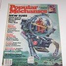 Popular Mechanics Febuary January 1985 New Submarines Flying Fortress