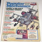 Popular Mechanics Febuary 1985 Armys Deadly Flying Tanks Hughes Apache