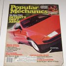"Popular Mechanics October 1985 ""86"" New Cars Destination Mars Supersonic Travel"