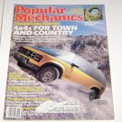 Popular Mechanics Magazine September 1987 4X4's Buyers Guide