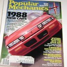Popular Mechanics Magazine October 1987 Music 1988 New Cars Sputnik