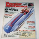 Popular Mechanics Magazine March 1988 Olympics 88 Technology Living on the Moon