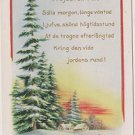 Vintage Postcard In Swedish Whitney Made in Mass USA Early 1900's