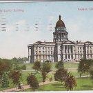 Vintage Postcard Denver CO State Capitol Building 1909