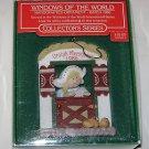 "Hallmark "" Windows of the World "" Collectors Series Ornament Holland 1986"