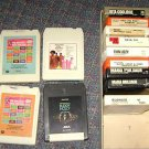 Lot of (13) 8 Eight Track Tape Cartridge assorted varieties