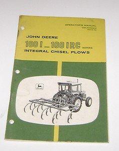 John Deere Operators Manual 1001 & 1001 IRC Integral Chisel Plows