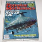 Popular Mechanics july 2000 Commando Attack Sub + 100 years US Sub Warfare
