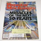 Popular Mechanics feb 2000 Miracles of next 50 years Genetic Foods