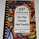 Recipes Mahoney Manor APT's 1972-1998 25th Anniversary Lincoln Nebraska