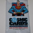 Superman Cosmic Trading Cards Inaugural Edition