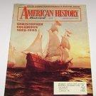 American History Illustrated 1992 Christopher Columbus Dalton Gang White House