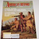American History Illustrated 1992 Daniel Boone Casablanca Film Classic