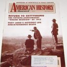 American History Illustrated 1993 Return to Gettysburg reunion 1913 - Huey Long
