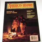 American History Illustrated 1990 Winter at Valley Forge Baron Von Steuben