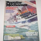 Popular Mechanics December 1981 Greatest Sea Rescue- Space Shuttle