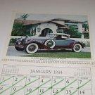 Cars of Yesterday Calendar Crumpton Welding Supply Inc Tampa FL