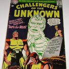 DC Challengers of the Unknown No 55 1967