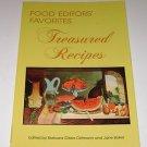 "Food Editors Favorites ""Treasured Recipes"" Barbara Gibbs Ostmann Jane Baker PB"
