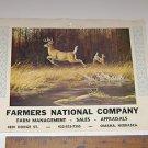 """Calendar Print Maynard Reece """"Scent of Danger"""" Buck & Doe"""
