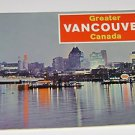 Greater Vancouver Vintage Tourist Guide 1960's