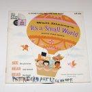 "Walt Disney's ""Its A Small World"" LP Record & Book 1968"