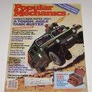 Popular Mechanics April 1983 Army's Super Jeep Tank Buster -22 Window Treatments