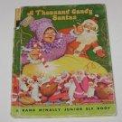 Rand McNally A Thousand Candy Santa's Junior Elf Childrens Book