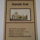 Vintage Postcard Congregational Church Onawa Iowa early 1900's