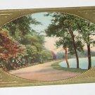 "Vintage Postcard  ""Scenic Road By Lake"""