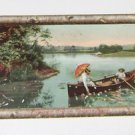 "Vintage Postcard  ""Picturesque America"" Thousand Islands Man Woman Row Boat"