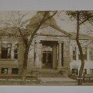 Vintage Postcard Public Library Vermillion S.D 1910
